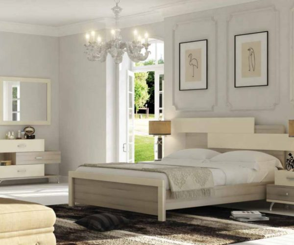 חדר שינה במראה קלאסי