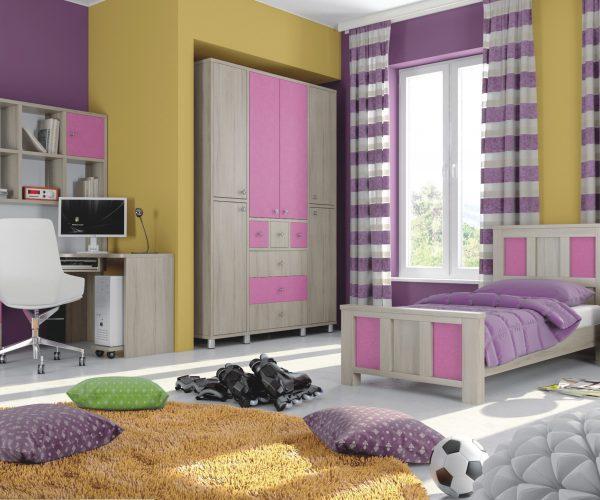 חדרי ילדים ורוד