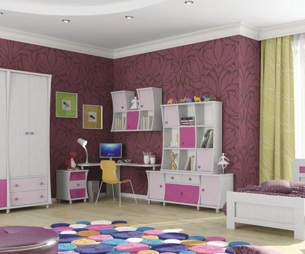 חדר ילדים לבת
