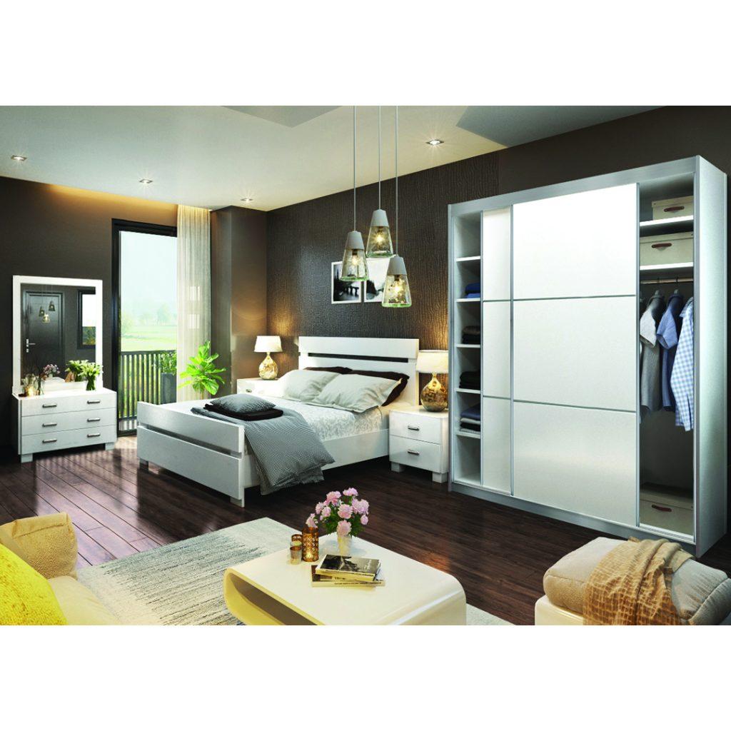חדר שינה צבר כולל ארון הזזה